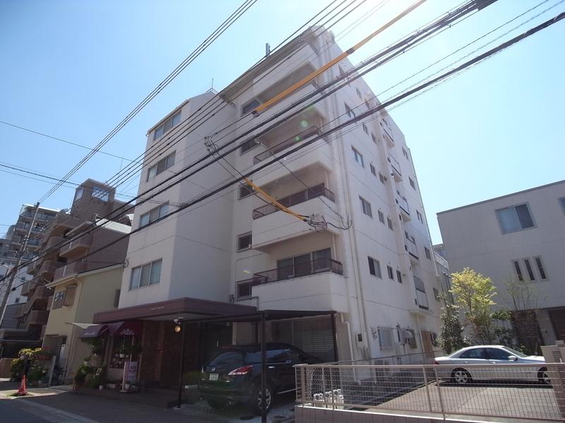 物件番号: 1025875174 山手ハイツ  神戸市中央区中山手通4丁目 3LDK マンション 外観画像