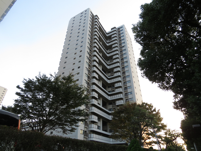 物件番号: 1025870798 ポートピアプラザB棟  神戸市中央区港島中町6丁目 2LDK マンション 外観画像