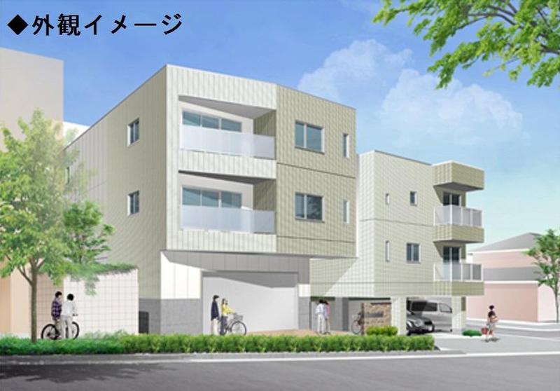 物件番号: 1025871004 セゾン・ド・オカモト  神戸市東灘区西岡本3丁目 2LDK マンション 外観画像