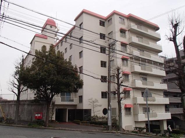 物件番号: 1025871254 萬利ハイツ  神戸市中央区熊内町5丁目 3LDK マンション 外観画像