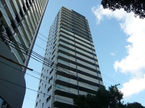 物件番号: 1025871441 パークタワー新神戸  神戸市中央区熊内町7丁目 2LDK マンション 外観画像