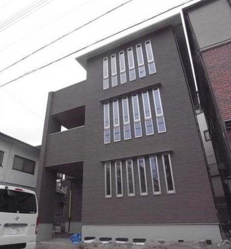 物件番号: 1025872639 ブランルミエール  神戸市中央区再度筋町 2LDK アパート 外観画像