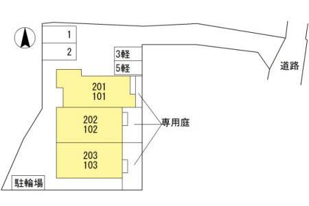物件番号: 1025874307 タウンコート五色山  神戸市垂水区五色山1丁目 2LDK ハイツ 画像5