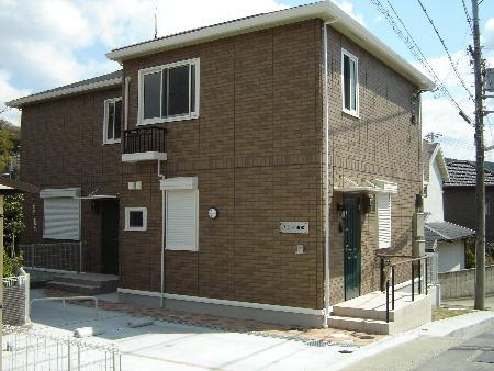 物件番号: 1025875154 ドルフ須磨  神戸市須磨区多井畑 2LDK ハイツ 外観画像