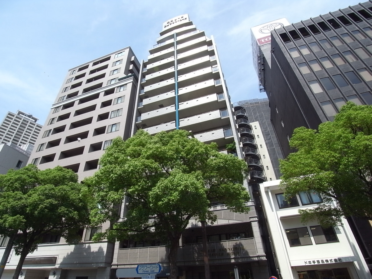 物件番号: 1025881134 エスリード三宮フラワーロード  神戸市中央区磯辺通4丁目 1LDK マンション 外観画像
