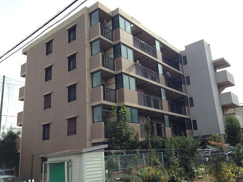 物件番号: 1025881137 プラージュ御崎  神戸市兵庫区御崎本町2丁目 1LDK マンション 外観画像