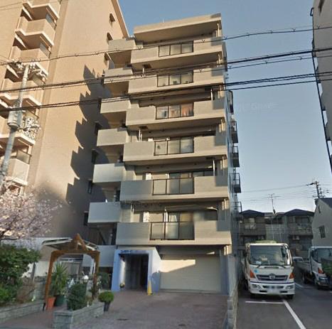 物件番号: 1025881172 サンエービル  神戸市兵庫区門口町 2LDK マンション 外観画像