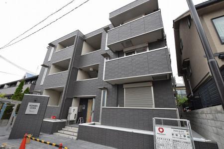 物件番号: 1025871594 甲南コルン  神戸市東灘区森南町3丁目 3LDK マンション 外観画像