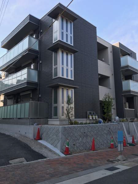 物件番号: 1025874677 グレイスコート神戸山本通  神戸市中央区山本通4丁目 1LDK ハイツ 外観画像