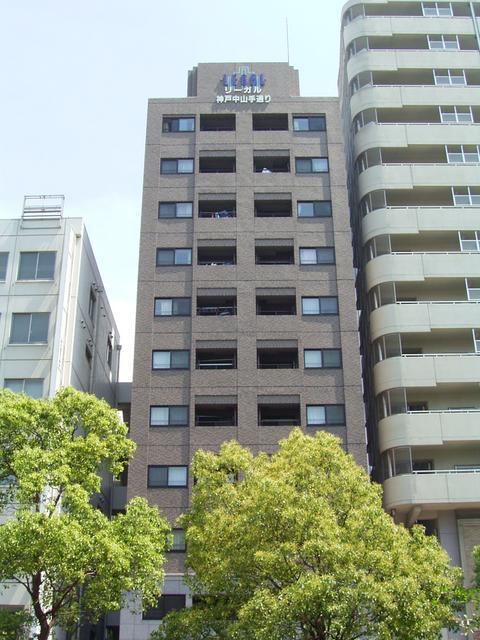 物件番号: 1025871032 リーガル神戸中山手通り  神戸市中央区中山手通2丁目 2LDK マンション 外観画像