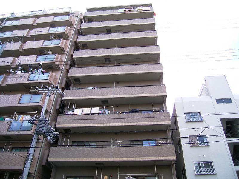 物件番号: 1025865767 メインステージ兵庫  神戸市兵庫区新開地4丁目 2DK マンション 外観画像
