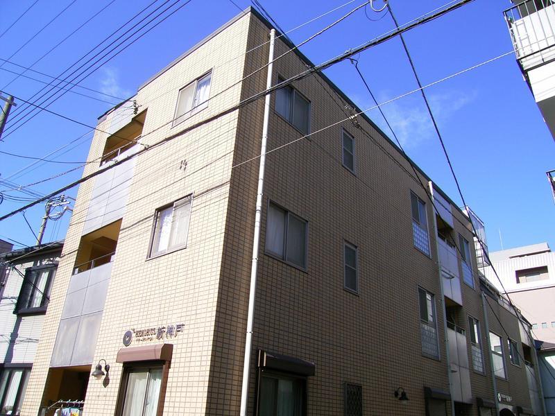 物件番号: 1025804340 オーズハイツ新神戸  神戸市中央区生田町4丁目 1LDK マンション 外観画像
