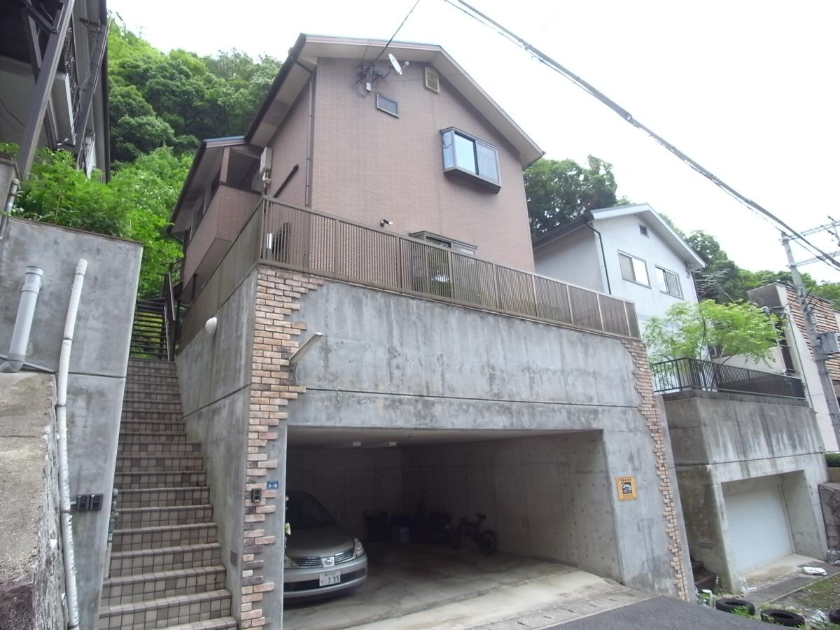 物件番号: 1025865973 コミュニティ熊内  神戸市中央区熊内町9丁目 2LDK ハイツ 外観画像