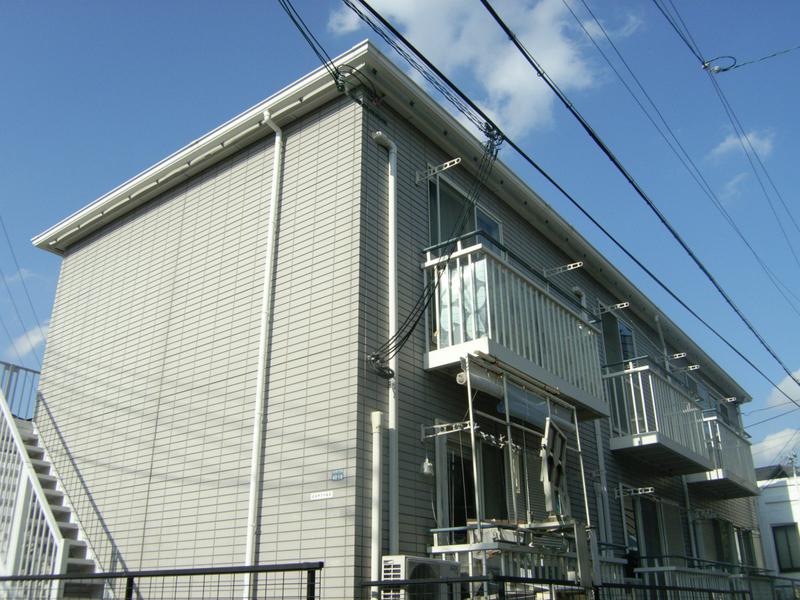 物件番号: 1025839886 ヒルサイド山手  神戸市中央区中山手通7丁目 2DK ハイツ 外観画像