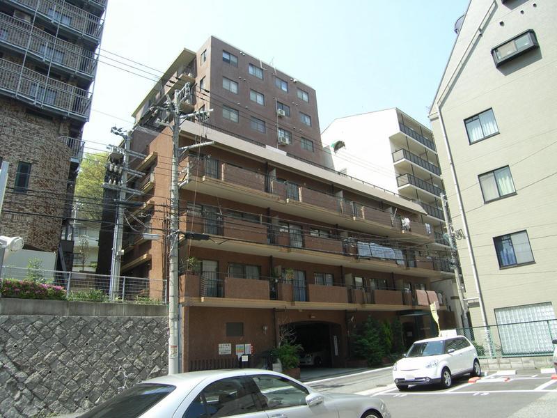 物件番号: 1025856594 グランドビスタ北野  神戸市中央区加納町2丁目 2LDK マンション 外観画像