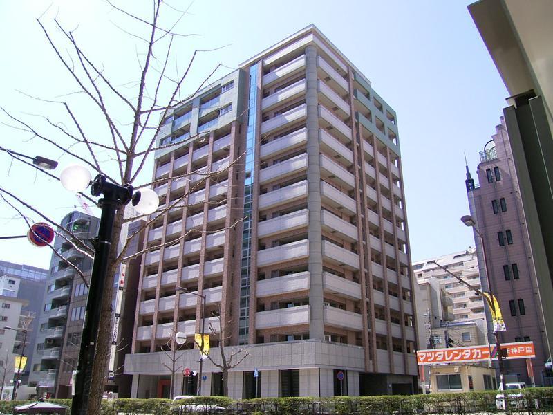 物件番号: 1025857036 インペリアル新神戸  神戸市中央区加納町2丁目 3LDK マンション 外観画像