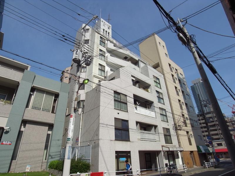 物件番号: 1025875432 ラフィーネ三宮  神戸市中央区二宮町3丁目 2LDK マンション 外観画像
