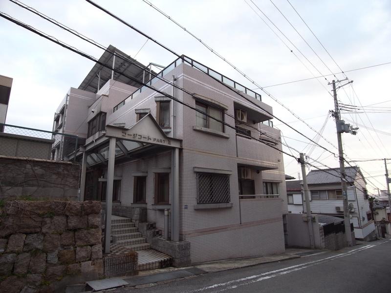 物件番号: 1025844085 コージコートPARTⅡ  神戸市中央区籠池通3丁目 2LDK マンション 外観画像