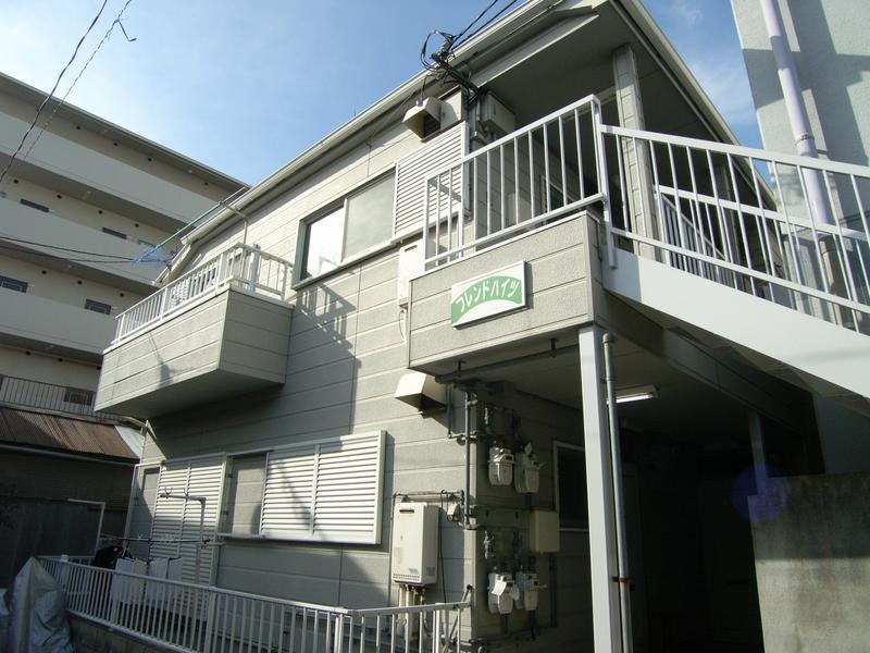 物件番号: 1025809019 フレンドハイツ  神戸市中央区日暮通6丁目 2DK ハイツ 外観画像