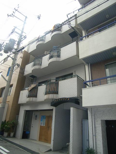 物件番号: 1025872467 ハイツグラナダ  神戸市中央区花隈町 2LDK マンション 外観画像