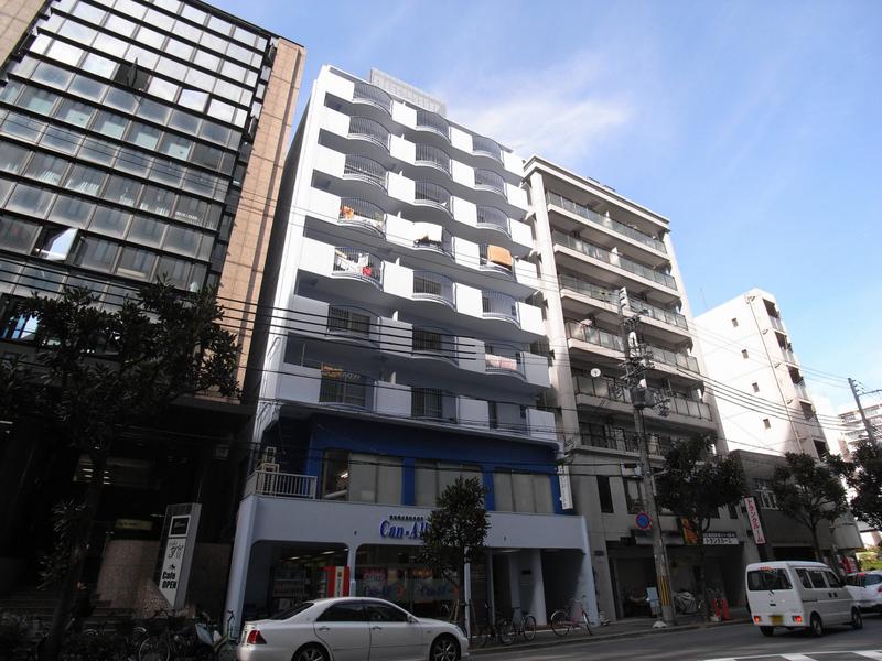 物件番号: 1025881149 レバンガ三宮アパートメント(旧:三宮ハイツ)  神戸市中央区御幸通2丁目 1LDK マンション 外観画像