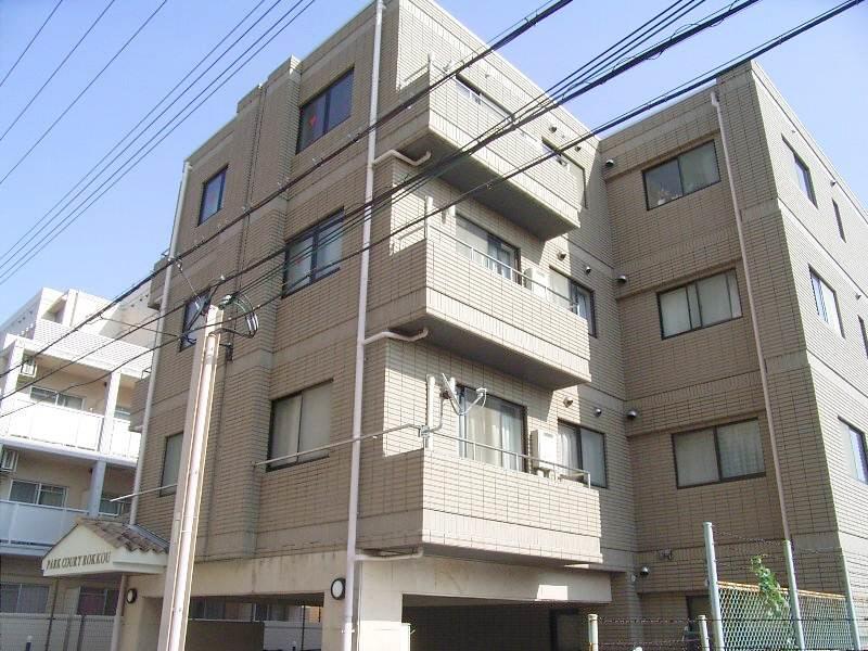 物件番号: 1025862812 パークコート六甲  神戸市灘区篠原中町6丁目 1DK マンション 外観画像