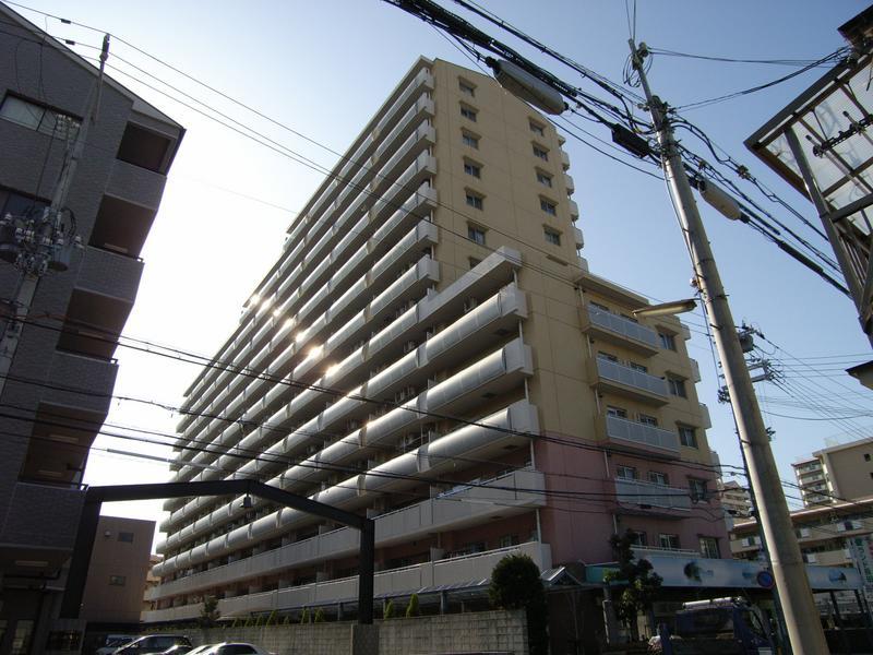 物件番号: 1025871306 ウイング神戸  神戸市長田区御蔵通2丁目 3LDK マンション 外観画像