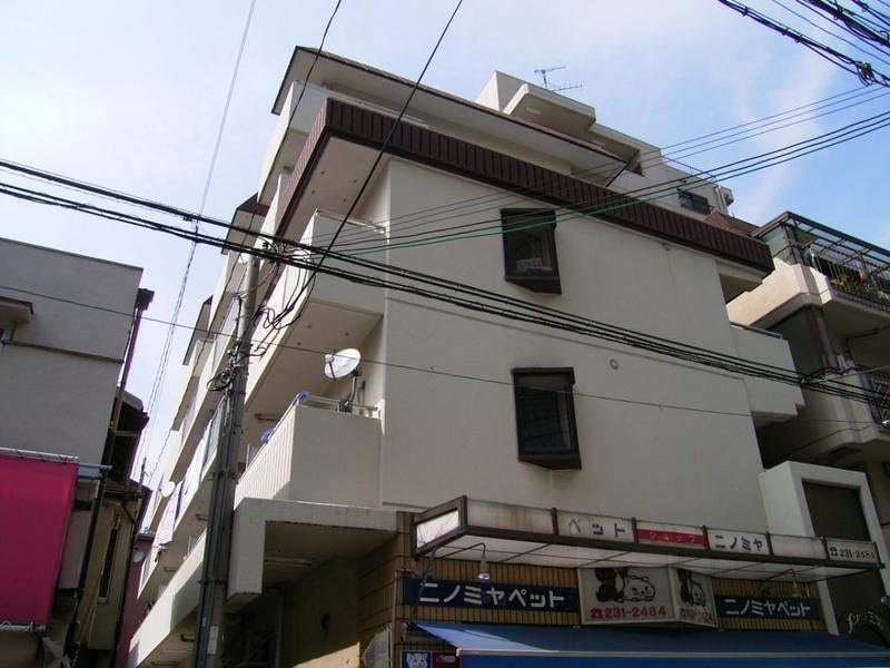 物件番号: 1025881318 メゾン三宮  神戸市中央区二宮町4丁目 1DK マンション 外観画像
