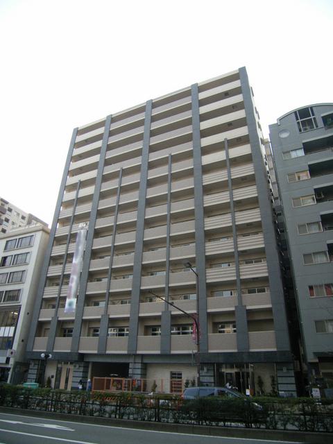 物件番号: 1025870394 プレジール三宮Ⅱ  神戸市中央区加納町2丁目 1DK マンション 外観画像