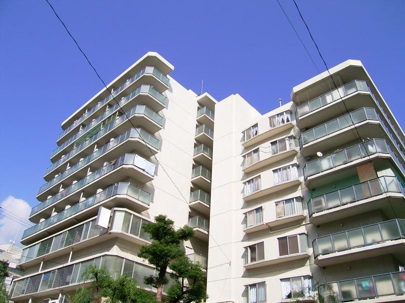 物件番号: 1025868033 山手ダイヤハイツ  神戸市中央区下山手通5丁目 1K マンション 外観画像