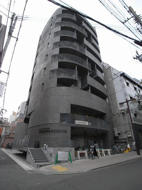 物件番号: 1025821925 ワイズコーポレーションビルディング  神戸市中央区下山手通2丁目 1R マンション 外観画像