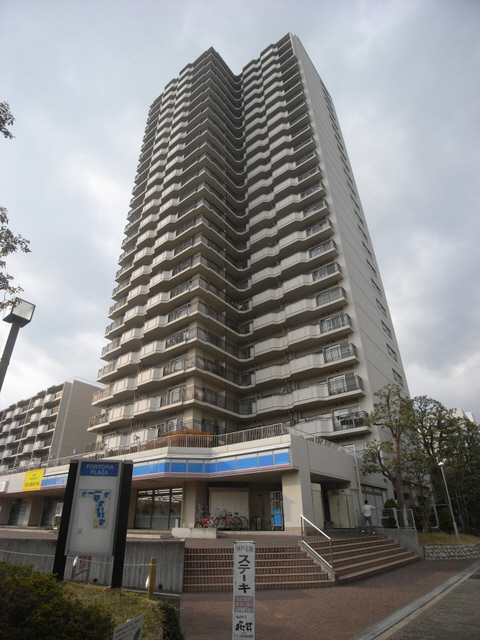 物件番号: 1025872703 ポートピアプラザD棟  神戸市中央区港島中町6丁目 3LDK マンション 外観画像