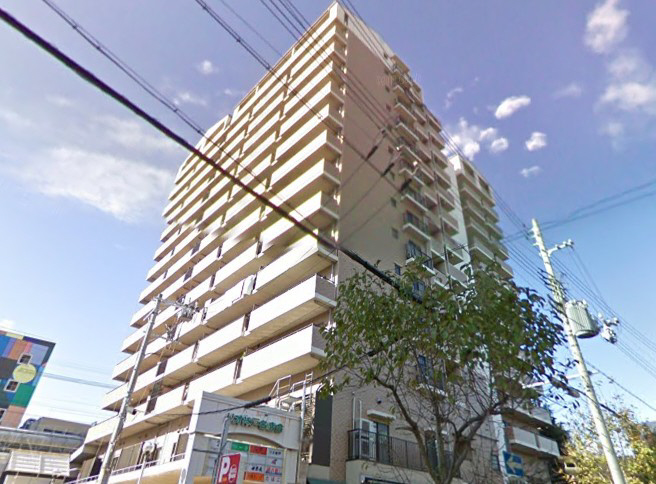 物件番号: 1025873932 ライオンズプラザ神戸  神戸市兵庫区新開地2丁目 3LDK マンション 外観画像