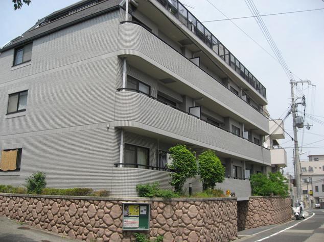 物件番号: 1025869930 ランドール六甲  神戸市灘区山田町2丁目 2LDK マンション 外観画像
