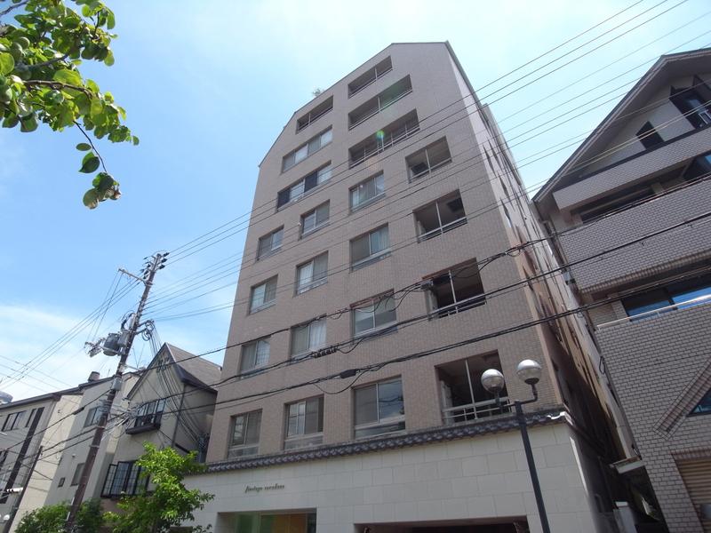 物件番号: 1025861856 ファスタージュ相楽園  神戸市中央区中山手通5丁目 1LDK マンション 外観画像