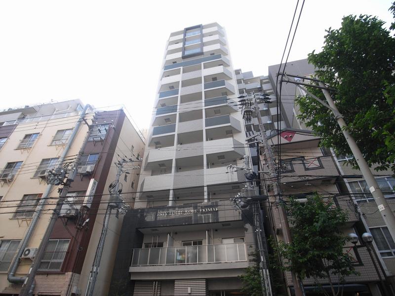 エスティ・ロアール神戸駅前 1302の外観