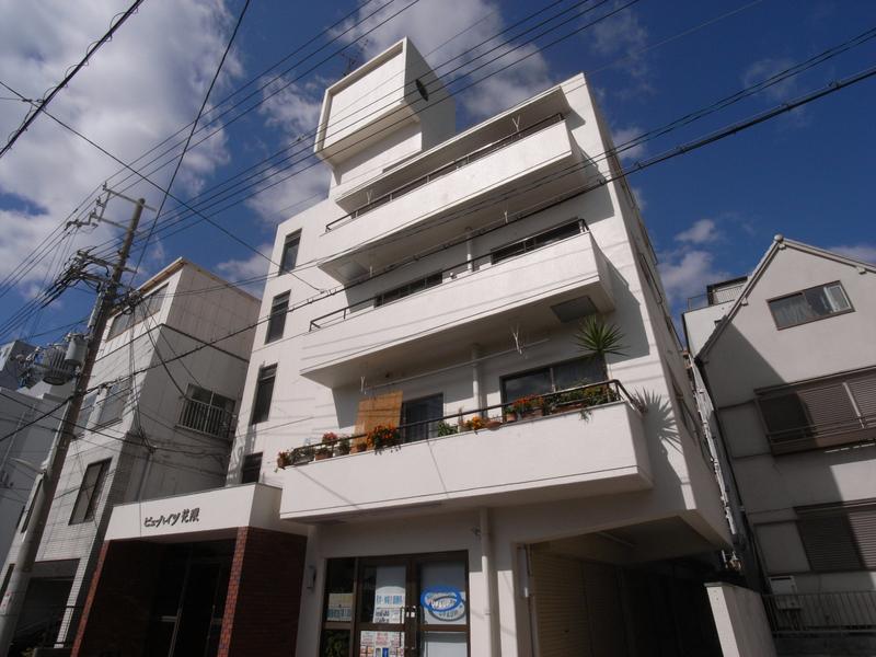 物件番号: 1025867318 ビューハイツ花隈  神戸市中央区花隈町 1LDK マンション 外観画像