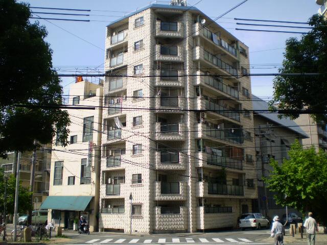 物件番号: 1025802763 甲南第2サンコーポラス  神戸市中央区古湊通2丁目 2DK マンション 外観画像