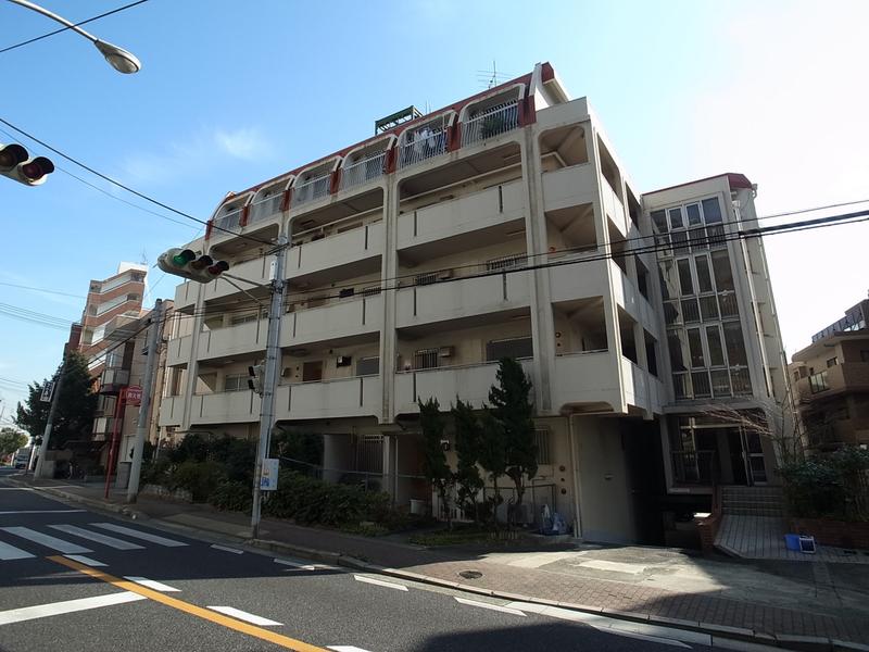 物件番号: 1025873556 ユートピア諏訪山  神戸市中央区山本通4丁目 3LDK マンション 外観画像
