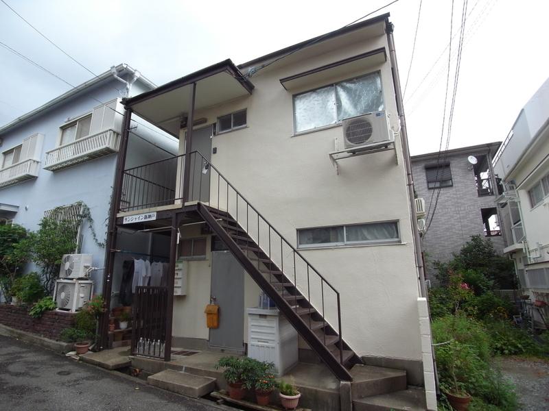 物件番号: 1025850770 サンシャイン新神戸  神戸市中央区熊内橋通6丁目 1K ハイツ 外観画像