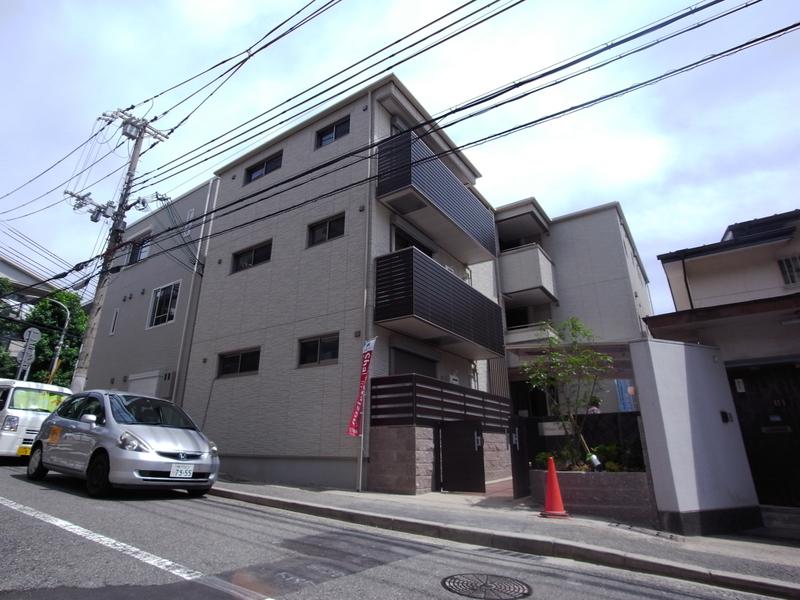 物件番号: 1025851627 Wisteria熊内  神戸市中央区熊内町5丁目 1LDK マンション 外観画像