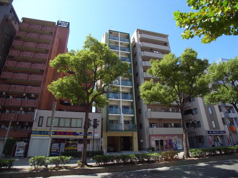 物件番号: 1025875516 ザ・コッチ神戸  神戸市兵庫区西橘通1丁目 1LDK マンション 外観画像