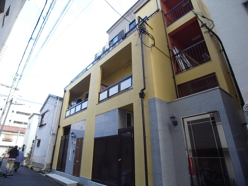 物件番号: 1025861437 花隈岩崎マンション  神戸市中央区花隈町 3LDK マンション 外観画像