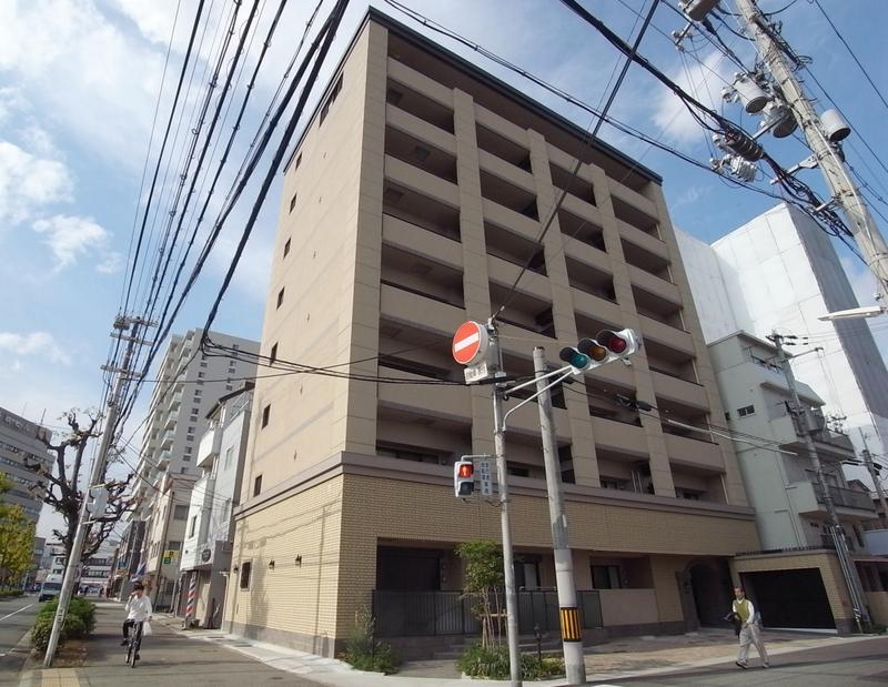 物件番号: 1025858481 NATARIE KOBE  神戸市兵庫区湊町4丁目 1LDK マンション 外観画像