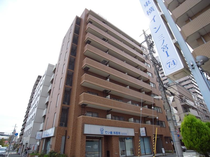 物件番号: 1025872486 ライオンズマンション三宮第2  神戸市中央区御幸通2丁目 2LDK マンション 外観画像