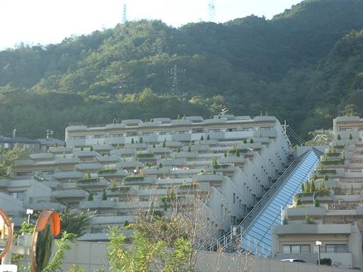 物件番号: 1025869448 ジオ六甲山手  神戸市灘区篠原台 3LDK マンション 外観画像