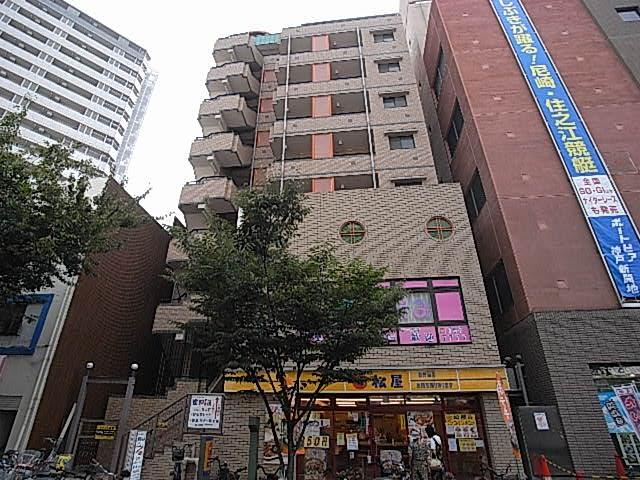 物件番号: 1025881390 パンプキンC  神戸市兵庫区新開地4丁目 1K マンション 外観画像