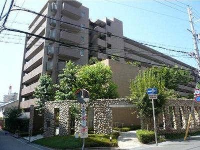 物件番号: 1025872300 コスモ六甲ガーデンフォート  神戸市灘区新在家北町2丁目 3LDK マンション 外観画像